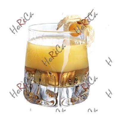 Стакан для виски 250 мл Durobor серия Quartz арт 0342/25, диаметр 75/85, высота 95