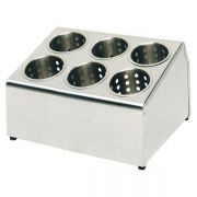 11997 Подставка для столовых приборов на 6 делений, 37,5х30 см APS