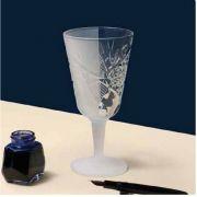 120462 Бокал для коктеля/вина Cocktail/Wine 300 мл frozen/clear  Hobstar Libbey