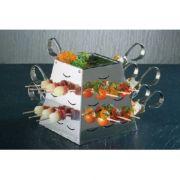 12440 Стойка буфетная в наборе (1 стойка, 1 салатник, 24 ложки, 20 шпажек) APS