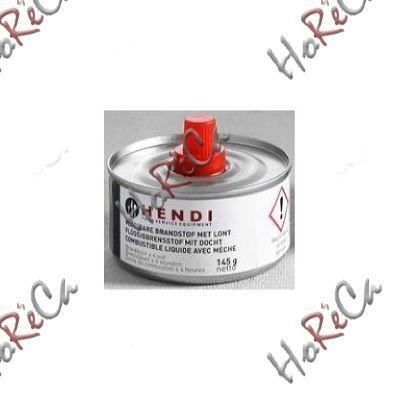 Горючее для чафиндиш, топливо для мармитов с фитилем производитель Hendi, банка 145гр.