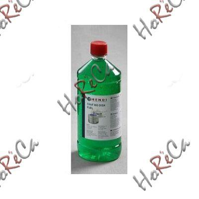 Горючее для чафиндиш. Паста горючая для подогрева производитель Hendi, бутылка 1л (этанол) артикул 195109