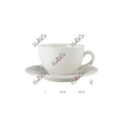 228330SM Набор чашка чайная 280 мл+блюдце 16 см Porland (Порланд) Smoky