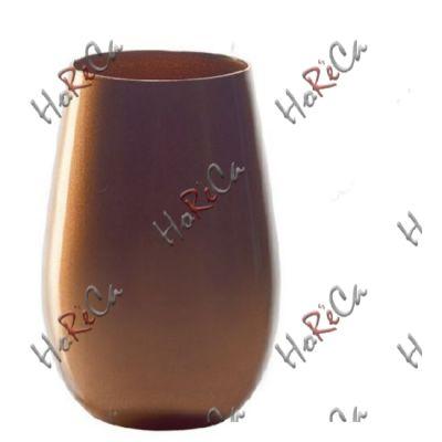 3528512 Stoelzle Olympic стакан бронзовый 465 мл, h-120 мм, d-85 мм.