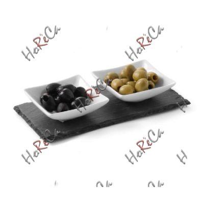 424698 Блюдо сланцевое прямоугольное 300x100x(H)5 мм, набор из 2 шт. Цена за 1 шт, Hendi