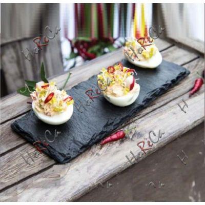 424827 Блюдо сланцевое планка Kook and Serve 40x10 см, Hendi