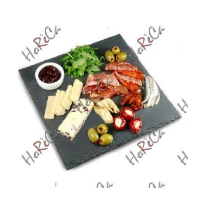 424964 Блюдо сланцевое поднос Kook and Serve 40x40 см, Hendi
