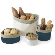 Мешок для хлеба  круглый синий/серый ø150 Hendi, артикул 429013 Прочный хлопок