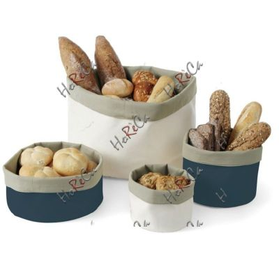 Мешок для хлеба  круглый синий/серый ø400 Hendi, артикул 429075