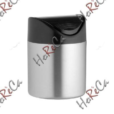 Koнтeйнep для муcopa нacтoльный Hendi, диаметр 120*(H)165мм артикул 440704