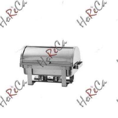 Мармит Rolltop GN 1/1 серия Profi Line, подогрев горючей пастой производитель Hendi 9л / 590*340*(H)335мм артикул 470206