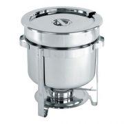 Мармит для супов круглый, подогрев горючей пастой производитель Hendi 10л / Ø370*(H)345мм артикул 472507