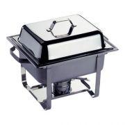 Мармит GN 1/2 серия Kitchen Line подогрев горючей пастой производитель Hendi 4,5л / 385*295*(H)310мм артикул 475201