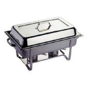 Мармит GN 1/1 серия Kitchen Line подогрев горючей пастой производитель Hendi 9л / 620*350*(H)310мм артикул 475904