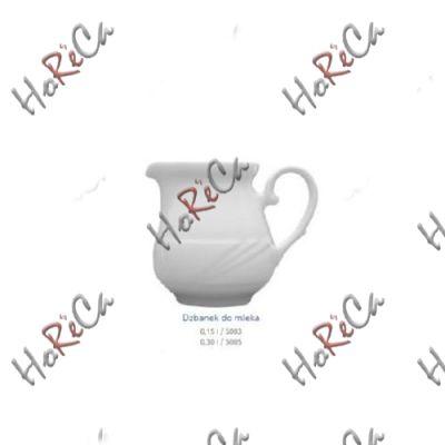 5003 Молочник, Аркадия (Arcadia), 150мл; h=9, b=11см; Lubiana
