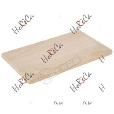 Доска разделочная для хлеба деревянная производитель Hendi 340*200*(H)14мм. артикул 505007