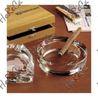 52814 Пепельница круглая 16 см серия Cigar Nachtmann