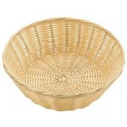 530023 Корзинка для хлеба Forest, кошик круглий 20х7 см, світло-коричневий