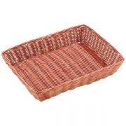 530122 Корзинка для хлеба Forest, кошик прямокутний 30х22х6 см, темно-коричневий
