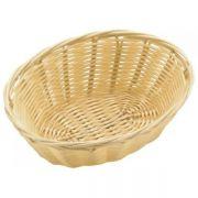 531011 Корзинка для хлеба Forest, кошик овальний 18х13х6,5 см, світло-коричневий