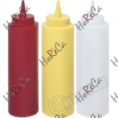 Диспенсер для соусов красный серия Kitchen Line Hendi 0,20л / Ø50*185мм арт 558010