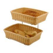 Корзинка для хлеба и булочек прямоугольная со стелажом Hendi, 360*270*(H)90мм кратно 2шт. артикул 561201