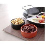 Пиала для масла и соуса из меламина, черная, 80x80x30 мм - комплект 3 шт. арт 564561 Hendi