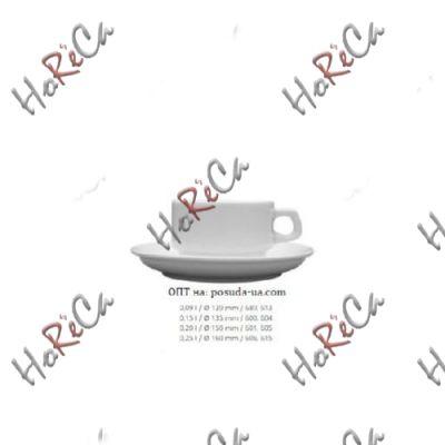 0605 Блюдце Кашуб-хел (Hel), d=15, h=2см, Lubiana