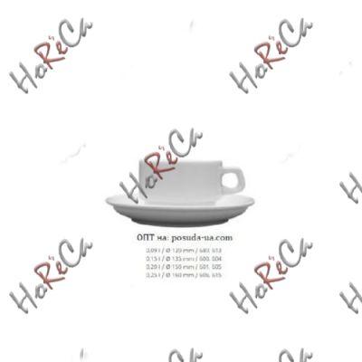 0613 Блюдце Кашуб-хел (Hel), d=120, h=15мм Lubiana