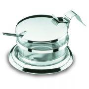 62970 Чашка для пармезана с ложкой Lacor