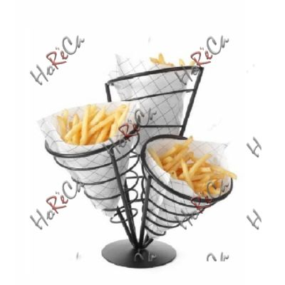Подставка для картофеля-фри - для 3 пакетов арт 630921 Hendi