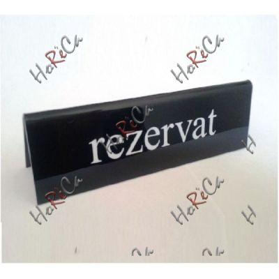 Настольная информационная табличка Reserved 130x35x40 мм арт 663462 Hendi