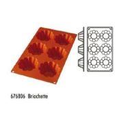 Форма силиконовая, серия Briochette 6 ячеек производитель Hendi, Ø82*39мм артикул 676806