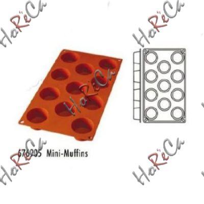 Форма силиконовая, серия Mini-Muffins 11 ячеек производитель Hendi, Ø53*30мм артикул 676905