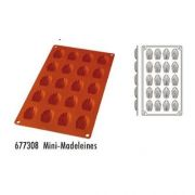 Форма силиконовая, серия Mini-Madeleines 20 ячеек производитель Hendi, 40*28*8мм артикул 677308
