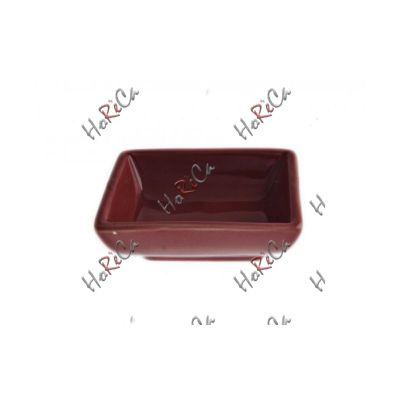 751508 Блюдо для соевого соуса 7,5 см, 40 мл произв. FoREST красное серия Fudo