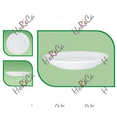 Блюдце 135мм  для чашки эспрессо FARN серия Harmonie,  8011HR в упаковке 24 шт,,  хорошо компануется с Lubiana.