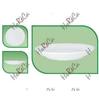 Блюдце 155мм  для чашки кофе FARN серия Harmonie,  8012HR в упаковке 24 шт, хорошо компануется с Lubiana.