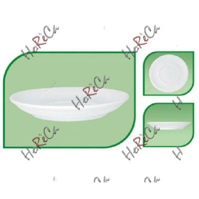 Блюдце 160мм  для для чайной и бульоной чашки FARN серия Harmonie, 8013HR в упаковке 24 шт, хорошо компануется с Lubiana.