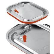 Крышка для GN 1/4 с силиконовой прокладкой - герметическая  Hendi 265*162мм артикул 804049