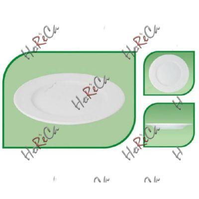 Тарелка мелкая 245мм  с широким бортом FARN серия Harmonie, 8044HR в упаковке 6 шт, хорошо компануется с Lubiana.