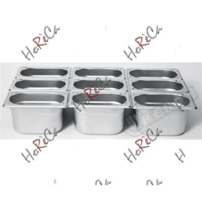 Гастроемкость Kitchen Line  Hendi GN 1/9 0,6л / 176*108*(H)65мм артикул 806722