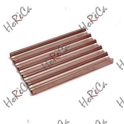 Противень для багетов- 5 углублений, 600x400 мм - алюминий с силиконовым покрытием, перфорированный, Hendi арт 808245