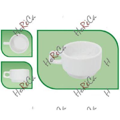 Чашка 200мл для кофе FARN серия Harmonie, 8122HR в упаковке 12 шт, хорошо компануется с Lubiana.