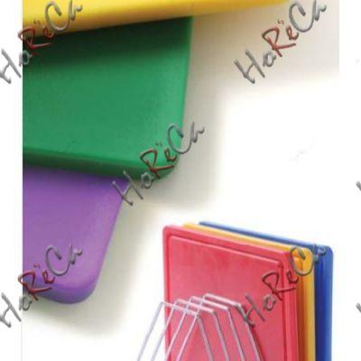 825570 Доска разделочная HACCP 450x300x12,7 - фиолетовая