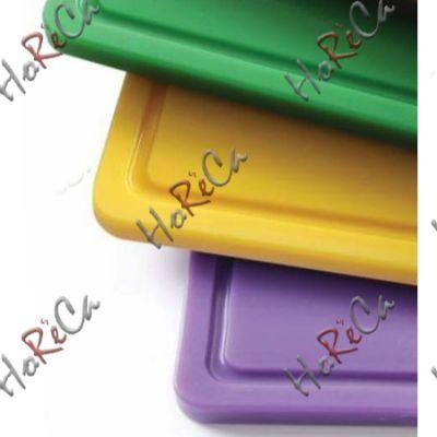 826164 Доска разделочная HACCP GN 1/2, фиолетовая, 265x325x12 мм