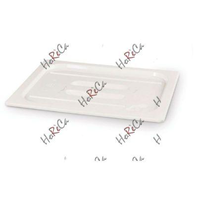 Крышка для гастроемкости из белого поликарбоната GN 1/6 арт 862995 Hendi