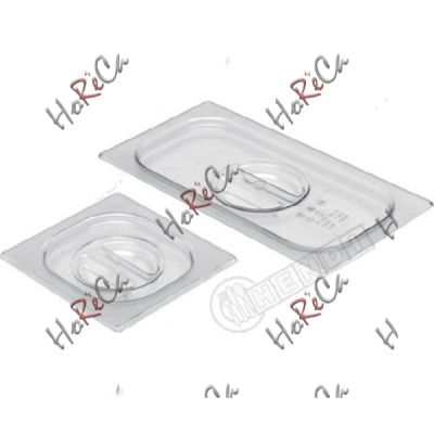 Крышка для GN 1/4 из поликарбоната производитель Hendi 265*162мм артикул 864142