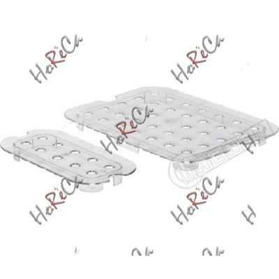 Решетка к гастроемкости из поликарбоната GN 1/2 Hendi 265*325мм арт 868546