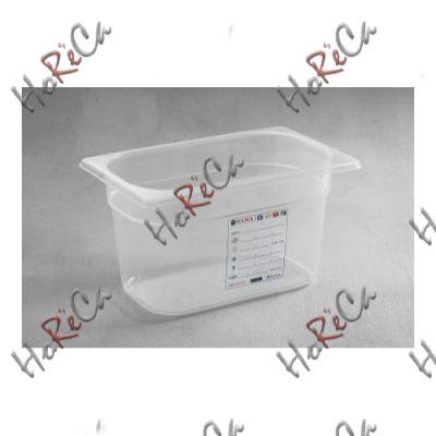 Гастроконтейнер из полипропилена  GN 1/4 производитель Hendi 265*162*(Н)65мм артикул 880388
